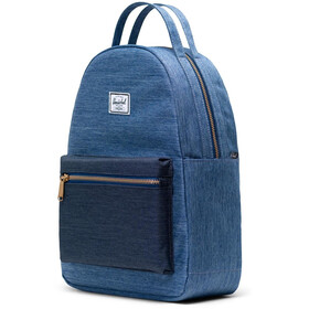 Herschel Nova Small Backpack 17L Unisex, faded denim/indigo denim